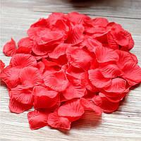 Лепестки роз разные цвета 200 гр Красный