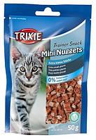 Trixie TX-42741 Trainer Snack Mini Nuggets 50г - лакомство с тунцом,курицей и котовником
