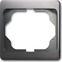 Рамка 1 пост ABB Alpha Exclusive Платина (1721 KA-20)