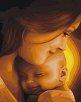 Картина по номерам Счастье материнства 40 х 50 см (КН2308), фото 1