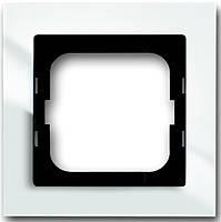 Рамка 1 пост АВВ Axcent Белый (1721-284)