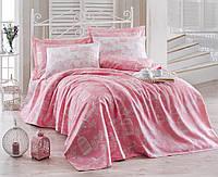 Постельное белье Eponj Home Pike - Samyeli розовое евро