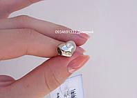 Серебряная пандора Сердце с камнем