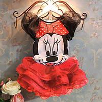 Комплект для девочки с Мини Маус 120 см