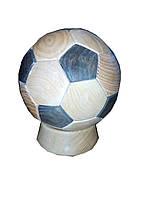 Мяч-копилка из дуба