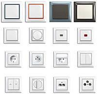 Выключатель 1-клавишный ABB Basic 55 Белый (2006/1 UC-94-507)