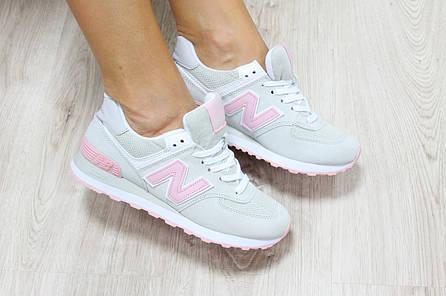 Женские кроссовки New Balance 574 замшевые