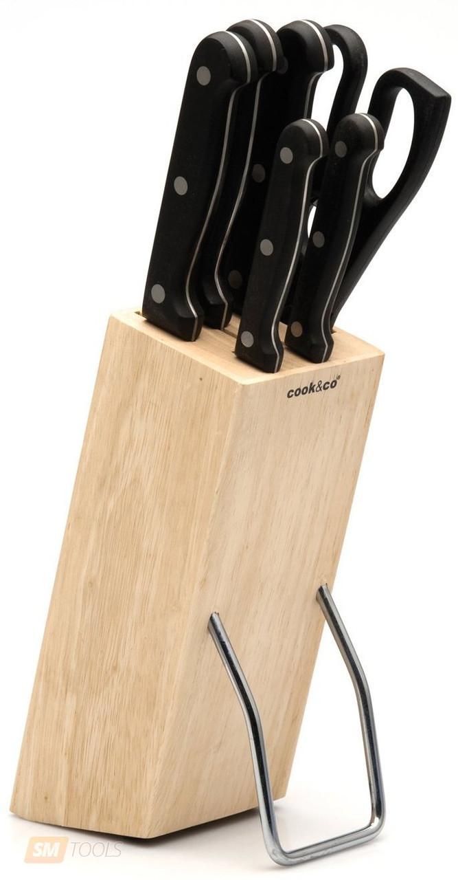 Набор ножей Cook&Co 6 пр в подставке (2800638)