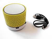Портативная колонка Bluetooth, 3 Вт, TRY SOUND KEG, желтая