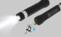 Портативная колонка-фонарь Bluetooth, 3 Вт, TRY SOUND TORCH, IP67, черная