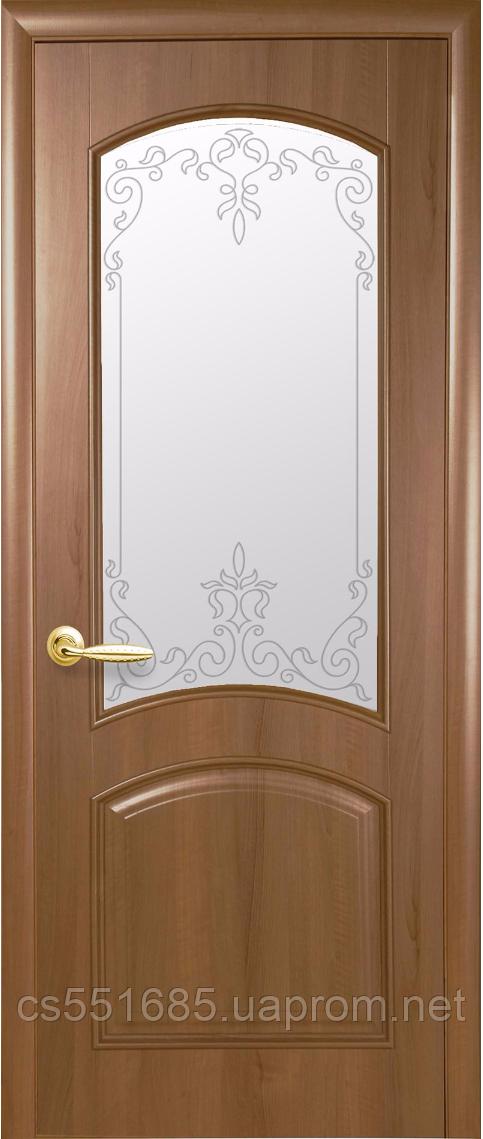 Антре Р3- Золотая Ольха (60, 70, 80, 90см). Коллекция ИНТЕРА DeLuxe. Межкомнатные двери Новый Стиль
