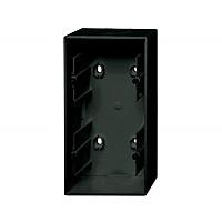Коробка наружной установки 2-поста ABB Basic 55 Черный Шато (1702-95-507)