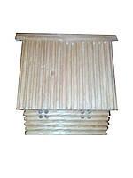 Домик-копилка деревянный ясень