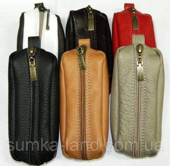 Ключницы кожаные (ассортимент цветов)