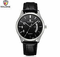 Мужские Часы Tolone по супер цене, с датой. Чоловічий годинник Акція!