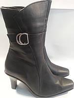 Ботинки женские зимние натуральная кожа р36 BONITA 205 черные TONI