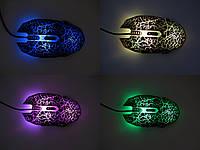 Мышь проводная, USB, Langxie T9, 4000 dpi, черная