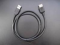 Удлинитель USB 2.0 (папа) - USB 2.0 (мама), 1 м, TRY WIRE, черный, гарантия 12 мес
