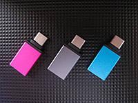 Переходник TRY PLUG USB 3.0 (f) - Type-C (m) colour
