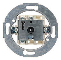 Выключатель двойной поворотный механизм 10А/250В Berker 1930/GLASSERIE/PALAZZO (387500)