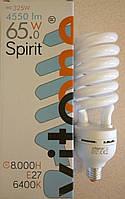 Энергосберегающая лампа спиральная 65W 6400К E27 230v 4550 Lm