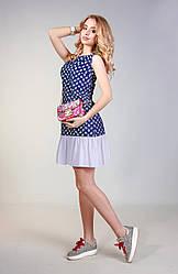 Летний сарафан с мини юбкой Разные цвета