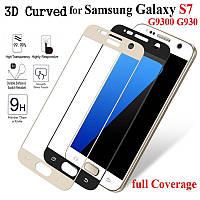 Защитное стекло Premium Tempered Glass (3D) для Samsung Galaxy S7 Duos G930F, фото 1