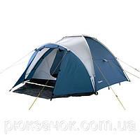Палатка кемпинговая двухслойная, Палатка 4-местная King Camp Holiday 4 KT 3022