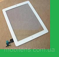 IPad 2, Apple iPad 2, A1395 Тачскрин (сенсор) с кнопкой(button) HOME белый