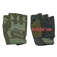 Перчатки тактические беспалые оливковые MPACT Mechanix Olive 10841