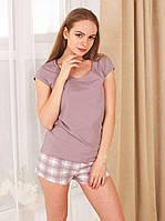 """Пижама женская (футболка+шорты) коллекция """"Sleep"""""""