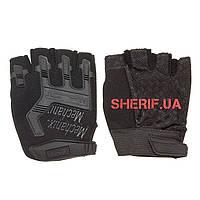 Перчатки тактические беспалые черные MPACT Mechanix Black 10840