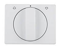 Накладка поворотного выключателя для жалюзи Berker Arsys Полярная Белизна (10770069)