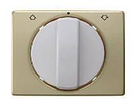 Накладка поворотного выключателя для жалюзи Berker Arsys Золото (10770102)