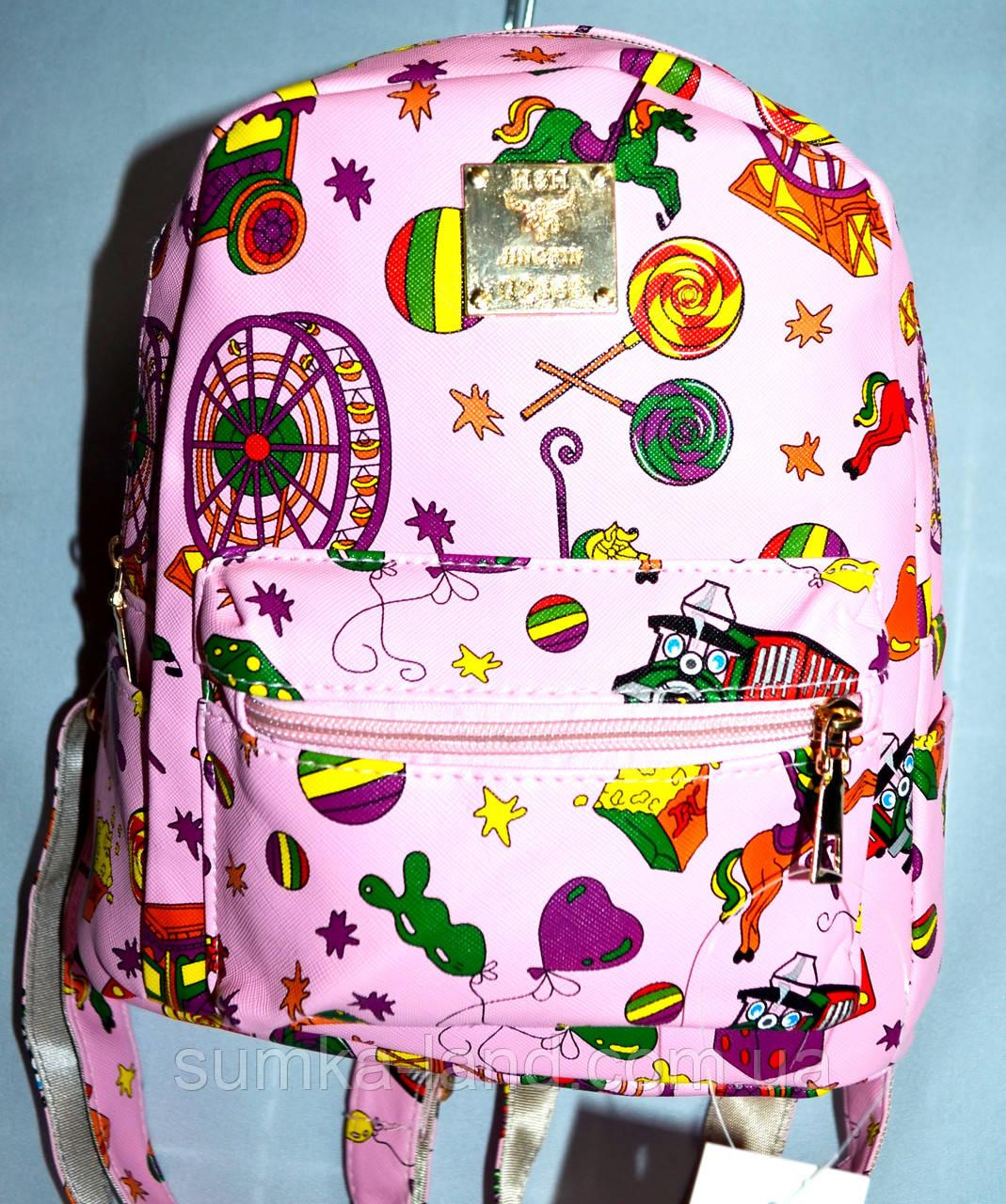 014d34679532 Женский городской рюкзак 22*26 (розовый), цена 182 грн., купить в ...