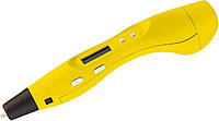 3D ручка SMARTPEN 2 RP400A c OLED дисплеем +подарок набор пластика Желтый