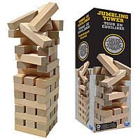 Настольная игра Дженга в жестяной коробке. Оригинал Spin Master
