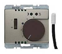 Регулятор температуры для пола с датчиком 250В Berker Arsys Бронзовый Лак (20349011)