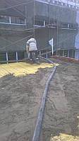 Цементная стяжка под битумную гидроизоляцию