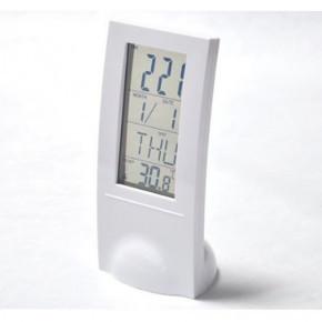 Часы-будильник с прозрачным ЖК-экраном