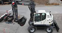 Экскаваторы колёсные TEREX TW110