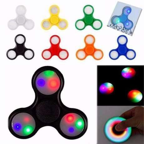 Спиннер spinner cветящиеся LED