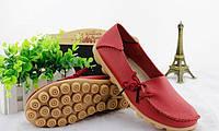 Туфли женские красные натуральная кожа Т499 р 37,38,39,40,41