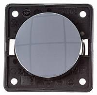 Кнопка 1-но клавишная 1НВ 10А/250В Berker Integro Хромированная Поверхность Матовая (936712528)