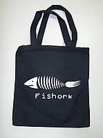 """Сумка жіноча """"Fishork"""" з замком та додатковою кишенею всередині, фото 1"""