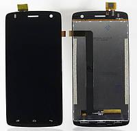 Дисплей для Fly iQ4503 Quad ERA Life 6 + touchscreen, чёрный