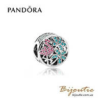 Шарм Pandora ФЛАМИНГО #792117CZS серебро 925 Пандора оригинал