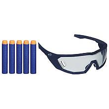 Пули и защитные очки Nerf N-Strike Elite Series Vision Gear