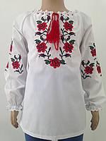 Вышиванка в украинском стиле для девочки