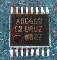 Ключ аналоговый 4 канала ADi ADG663BRUZ TSSOP16